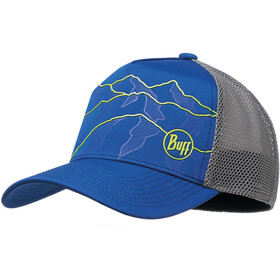 Buff Trucker Tech Casquette, solid cape blue